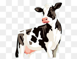 Holstein Friesian cattle Clip art  Cow Head png download