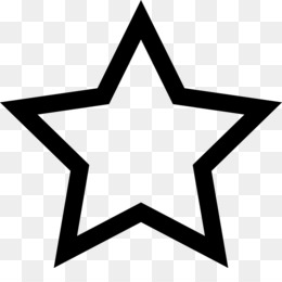 star shape icon clip art - red