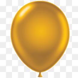 balloon gold clip art