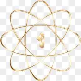 gold bohr diagram of atom ceiling fan parts free download atomic number model nucleus png
