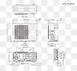 fujitsu aou24rlxfz wiring diagram msd ignition chevy electrical wires cable drawing others png