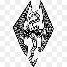 skyrim png skyrim logo