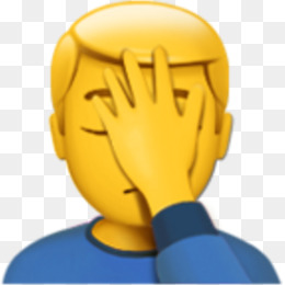 Facepalm PNG  Facepalm Transparent Clipart Free Download