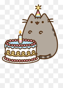 Cute Birthday Cake Wallpaper Pusheen Png Amp Pusheen Transparent Clipart Free Download