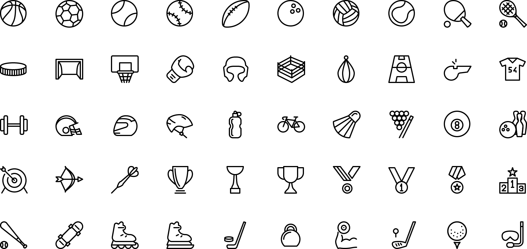 Preview Count Icons Icons