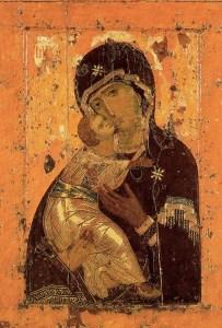 Икона Владимирская Божией Матери