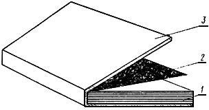 Тип 6 Переплетная крышка из одной детали
