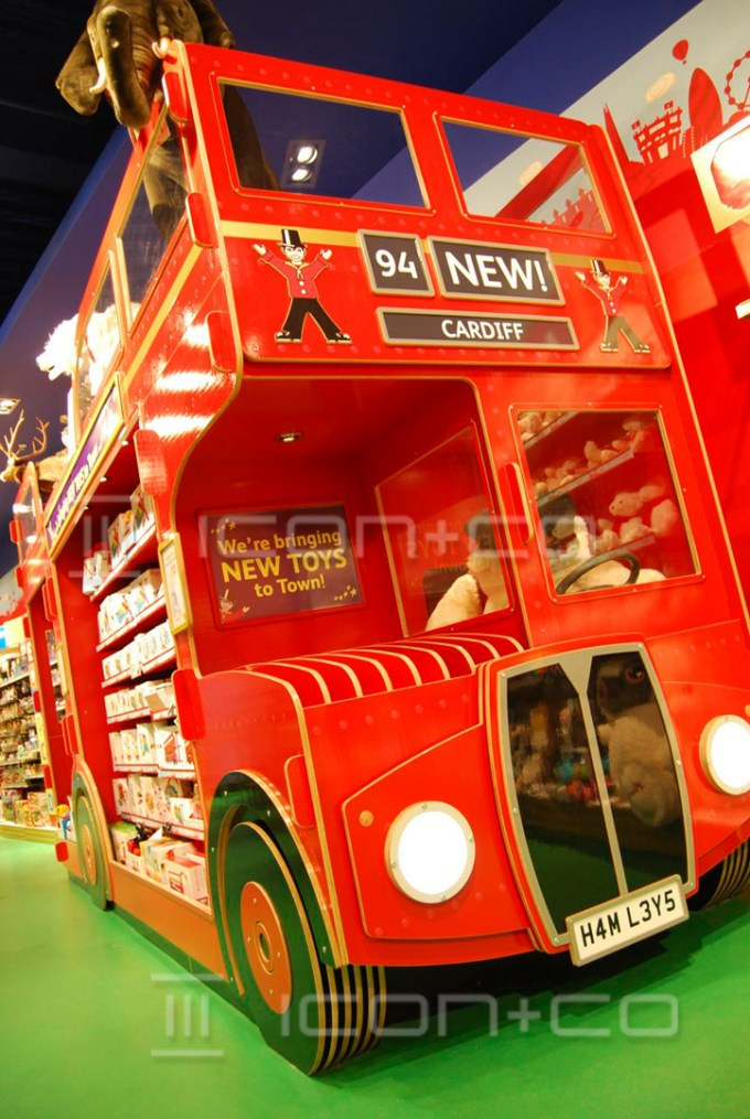 retail props makers, cnc newport cardiff wales, shop display props makers, life size display props, giant props, product display unit, children's bedrooms, kids murals, playrooms, kids furniture, fake double-decker bus london route master