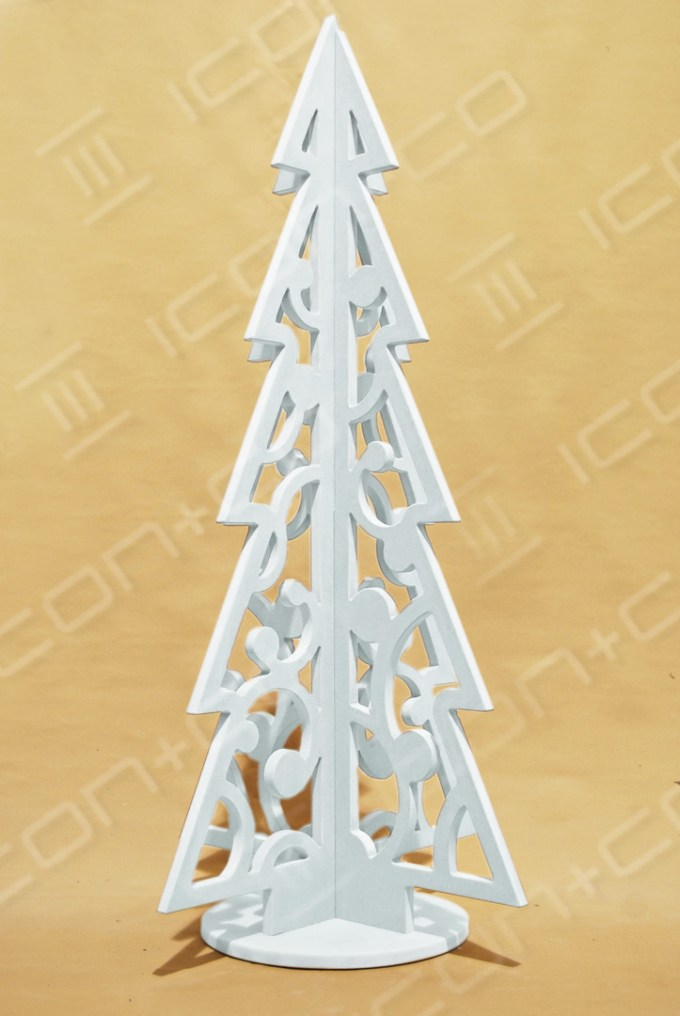 large display tree props, Xmas, seasonal display, snow, noel, wood wooden timber stylised, 2D fret cut, cnc