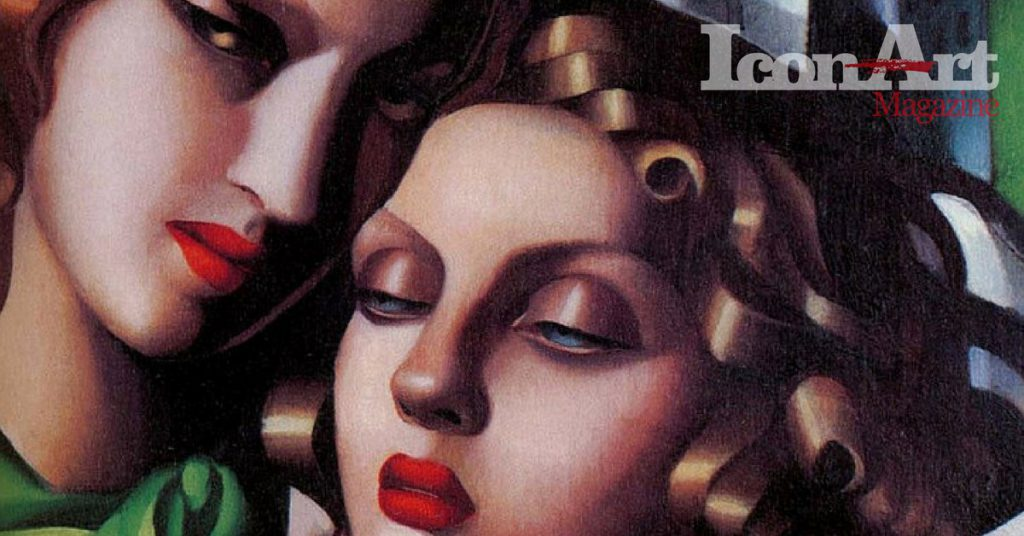 Tamara de Lempicka - The girls - 1930 - particolare volti