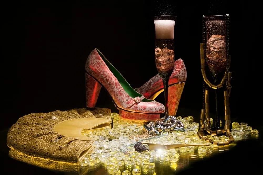 Champagne y caviar