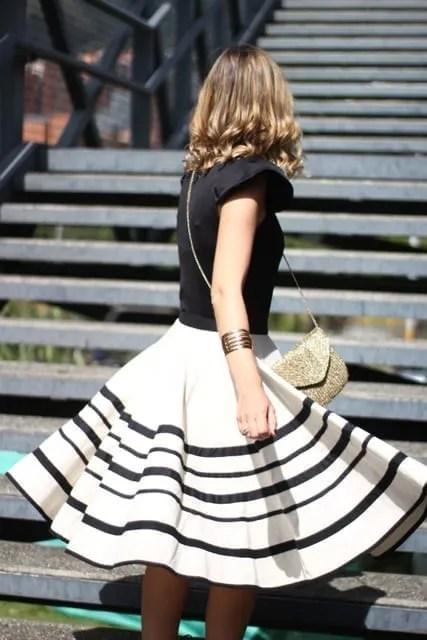 falda tipica colombia
