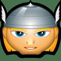 Thor Head Icon PNG ClipArt Image  IconBugcom