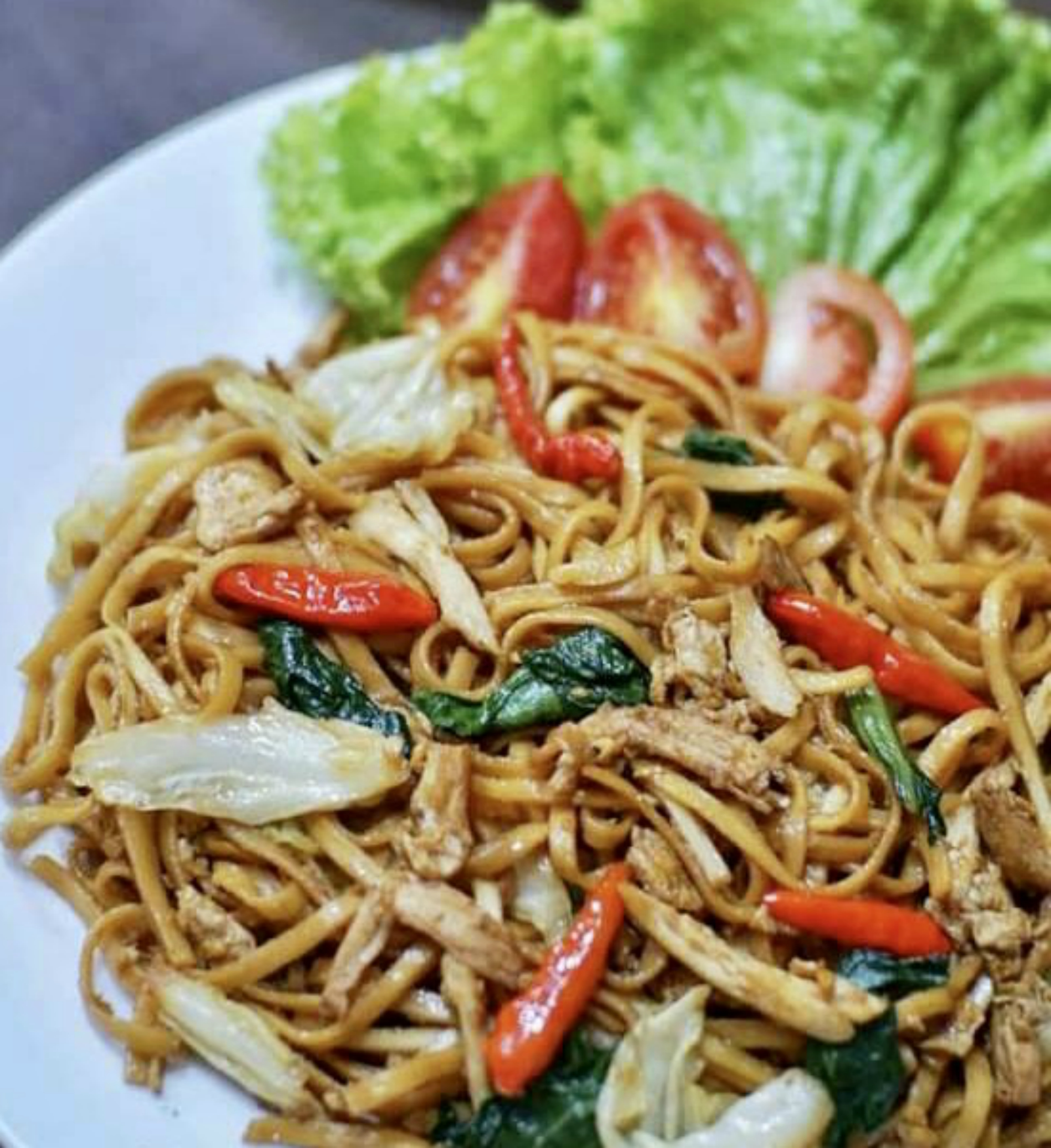Mie Goreng Jawa Javanese Fried Noodle With Chicken Indonesian Community Of New England Inc