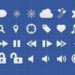 Tabs - icônes interfaces pour iOS et Designers