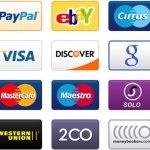 icones cartes de paiement