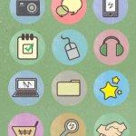 Retro Candy icônes