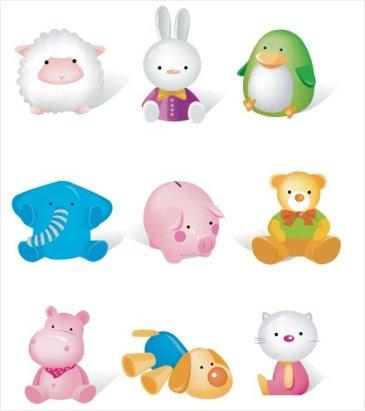 icônes animaux