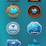 icones twitter gratuites