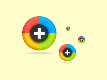 G+ icônes