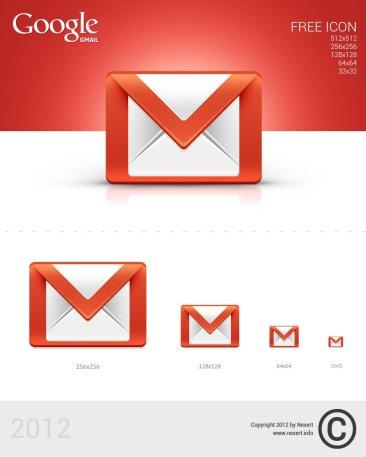 Icône Gmail