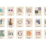 36 free vintage social icons