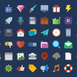 47 icônes flat