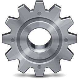 preferences cog gear stainless