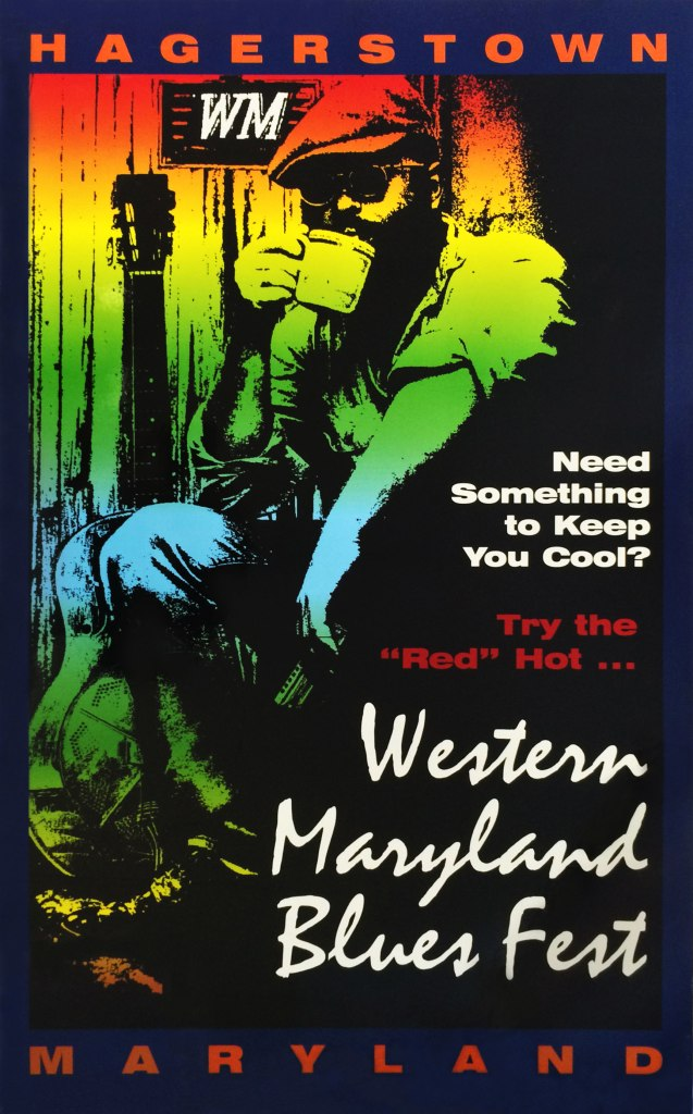 Blues Fest Poster 1996