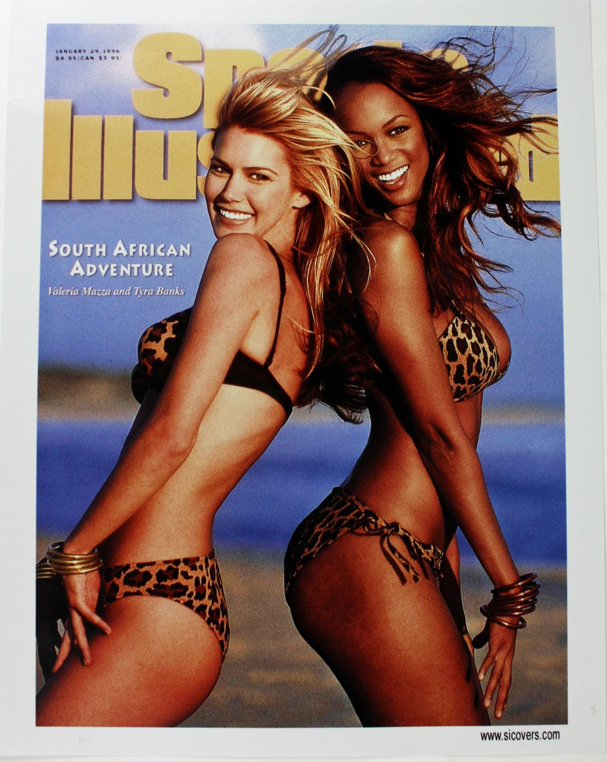 Tyra Banks winter 1997 Sports Illustrated cover  The Undefeated