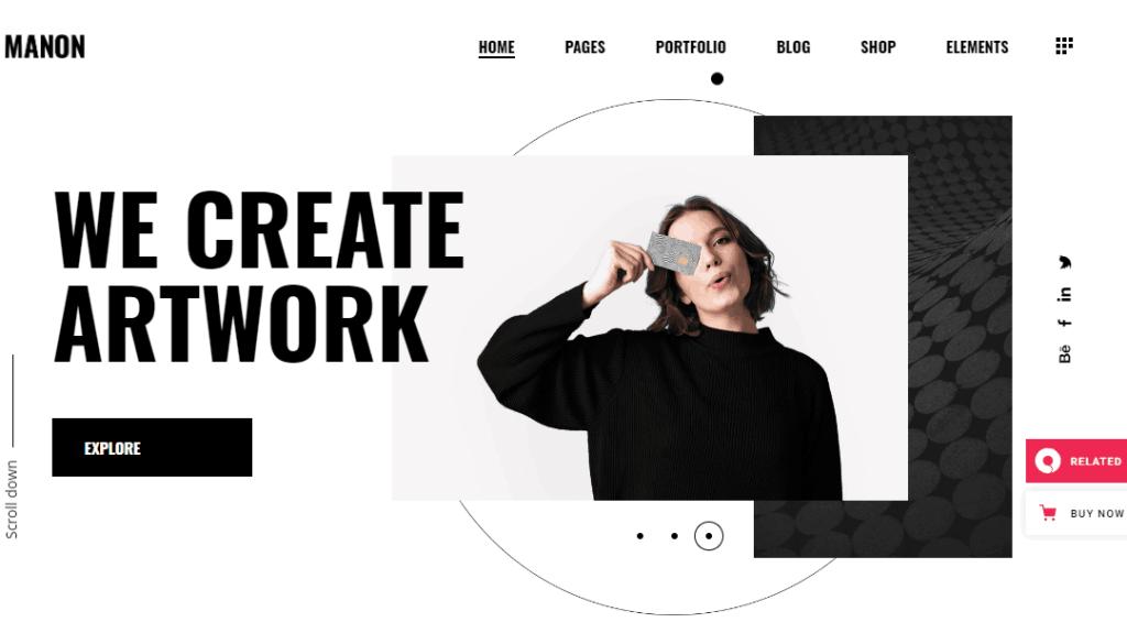 Manon a Portfolio & Agency Theme