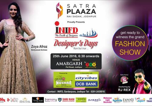 INIFD Jodhpur Fashion Show
