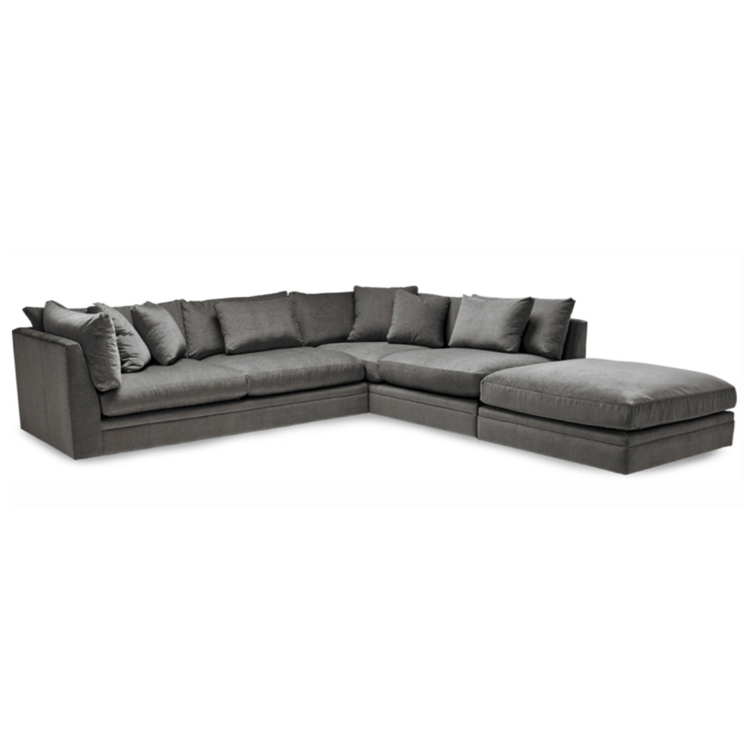 where to donate sectional sofa decorating ideas with brown leather cloud iconic furniture