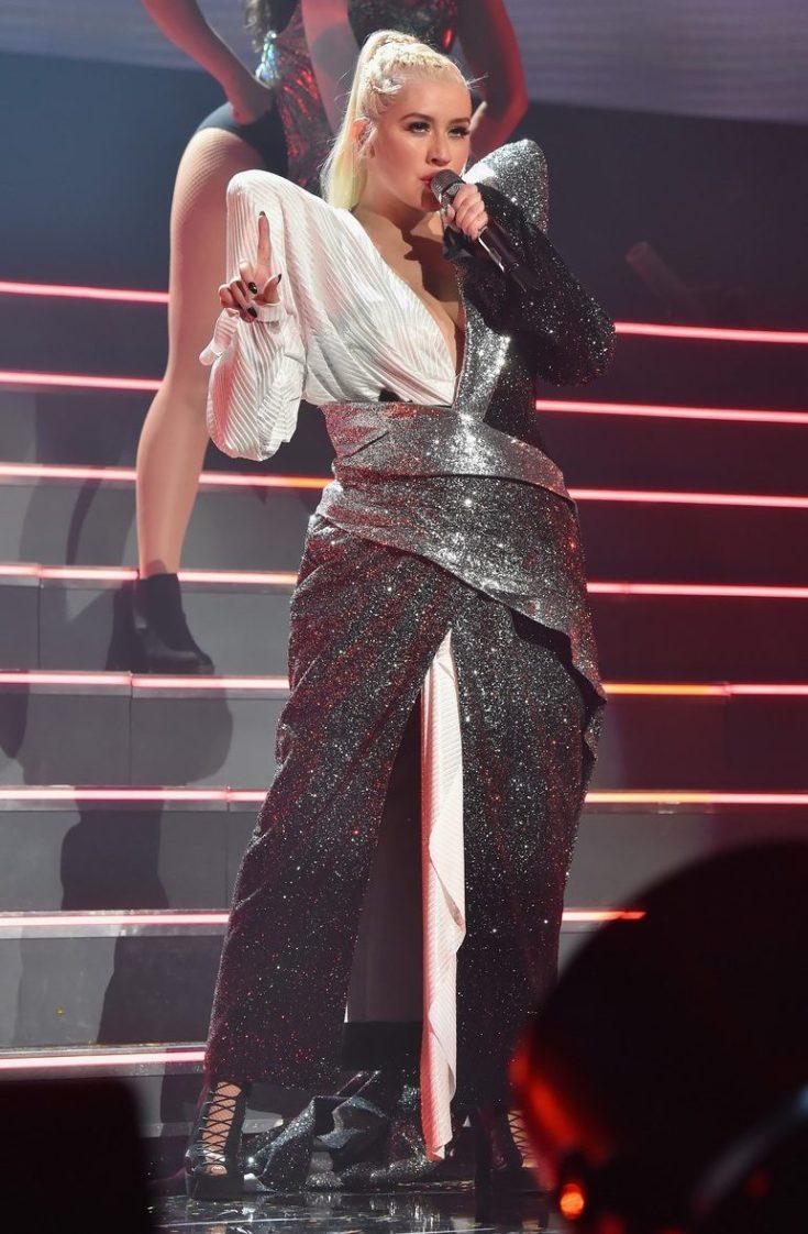 LIL KIM Joins Christina Aguilera During 'Liberation Tour' NYC Stop image