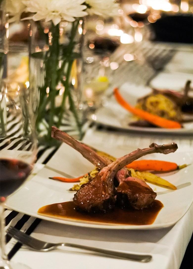 Privato Supper Club Phoenix AZ , Dinner Plate