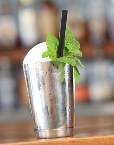 The Silver Dollar Mint Julep