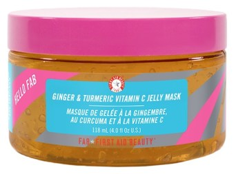 Hello FAB's ginger & turmeric jelly face mask