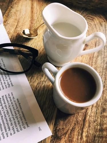 Letitia Frye morning coffee