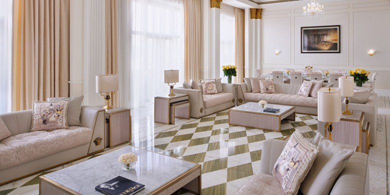 Palazzo Versace Imperial Suite Living Area