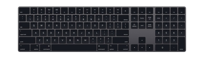 Apple Magic Keyboard in Space Gray
