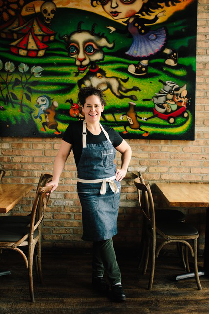 Celebrity Chef Stephanie Izard portrait