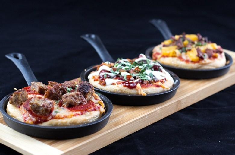 Skillet pizza by FLIGHTS, Los Gatos