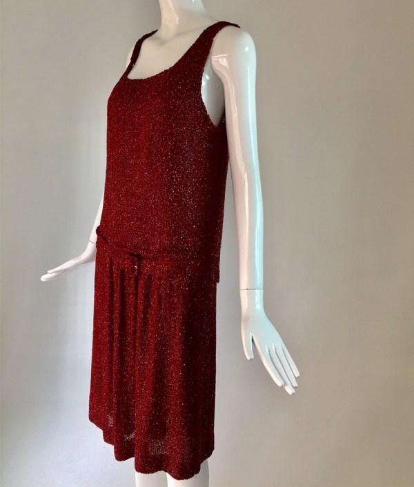 Robert Black - Red flapper dress