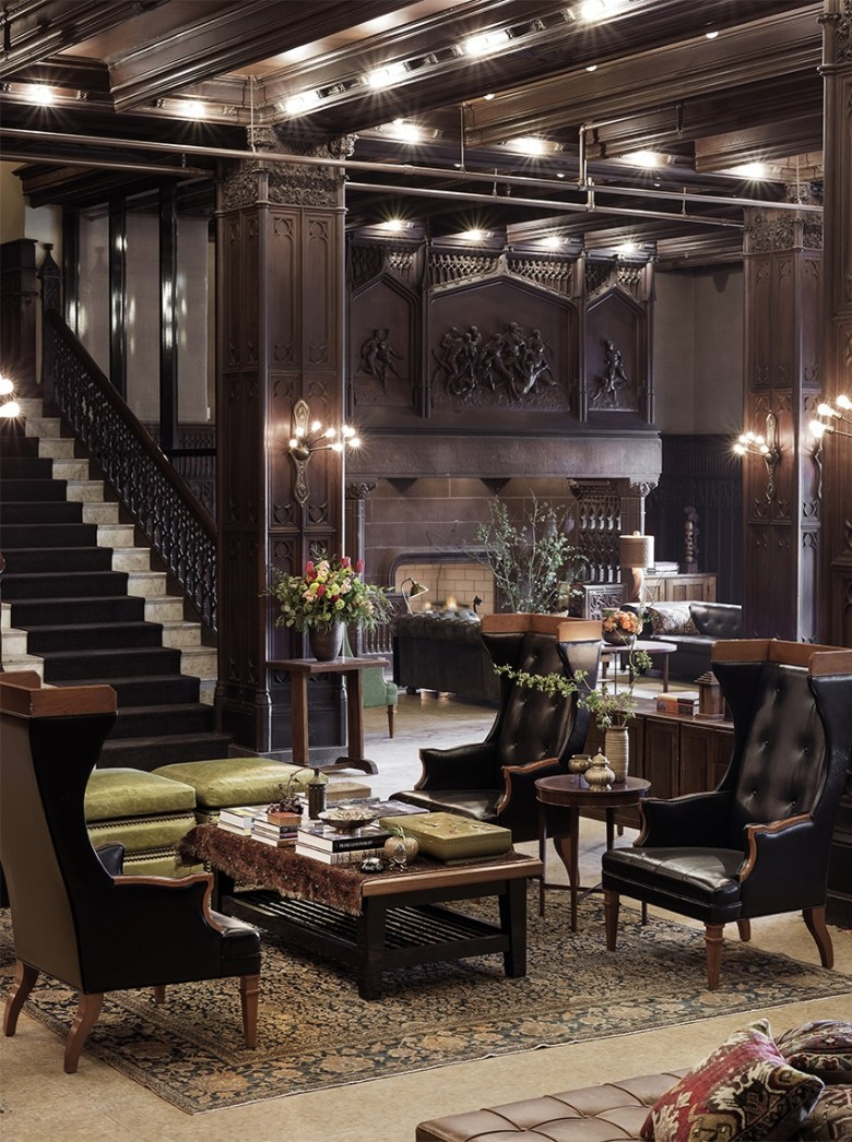 Chicago Athletic Association Hotel - Drawing Room