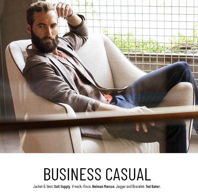 business causal style for men