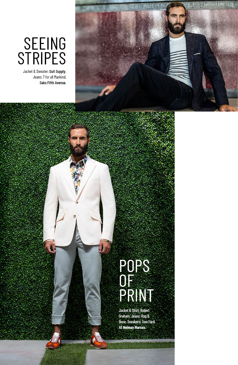 modern style with prints for men