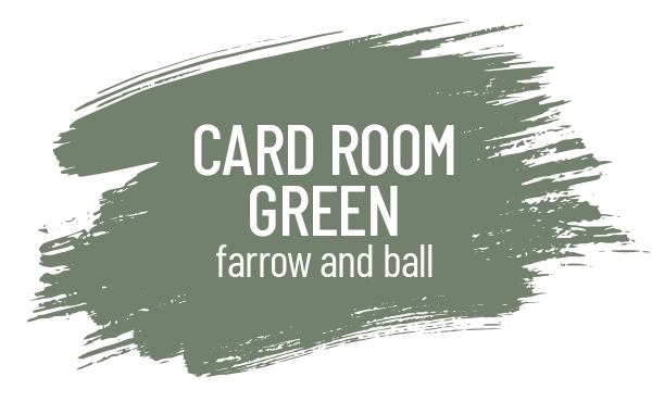 Card Room Green by Farrow and Ball