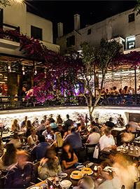 ling ling restaurant Mykonos Greece