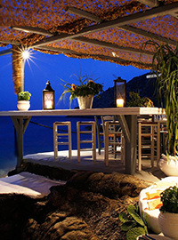 Spilia Restaurant Mykonos Greece
