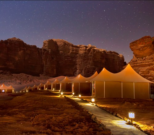 Memories Aicha Luxury Camp Night